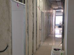 Realizzazione di pareti e controsoffitti in cartongesso